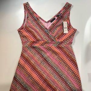 New York & Company   Sleeveless Multicolor Dress